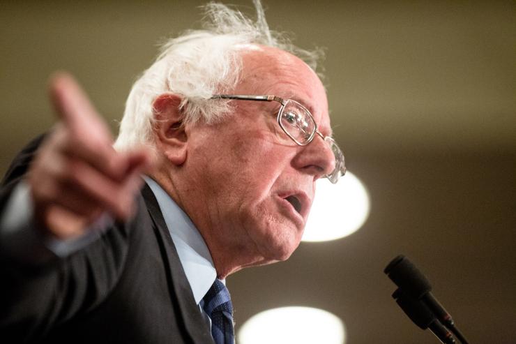 'It is not a great shock,' Sanders responds after DNC Chair Debbie Wasserman Schultzresigns