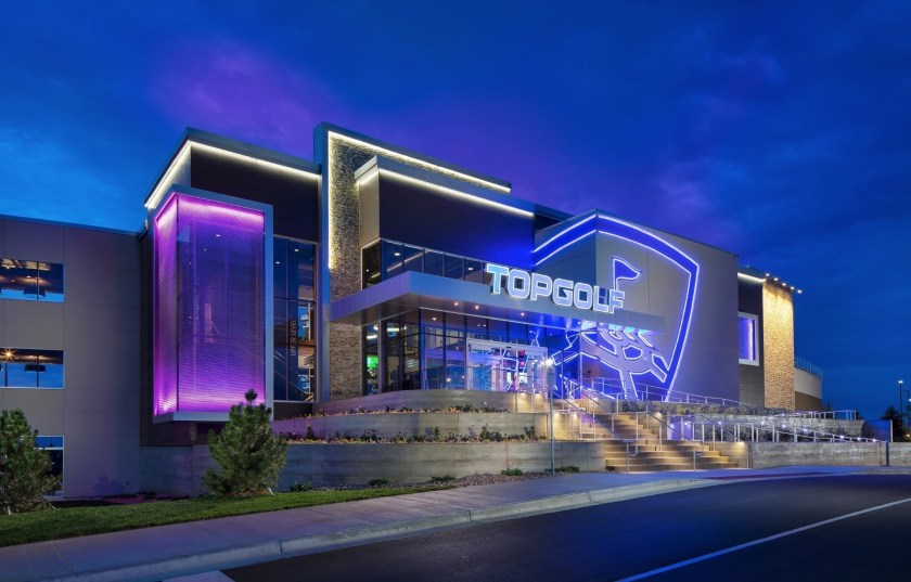 Topgolf Park Entrance