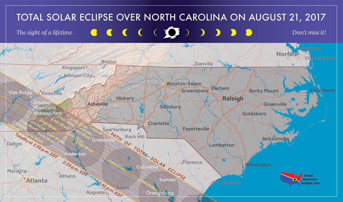 Weekend Roundup: Charlotte to see solar eclipse, officers injured at S.C.prison