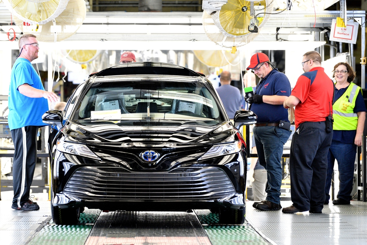 Toyota, Mazda consider Carolinas for massive production plant